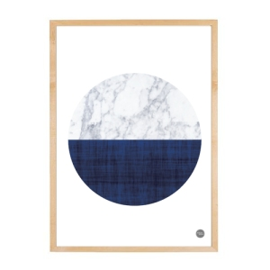 Marble - Navy Semi Circle_House Amour_JPEG