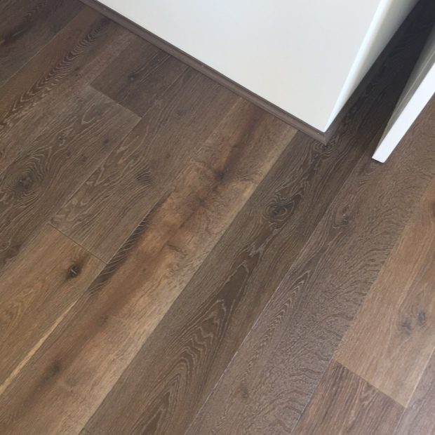 Vinyl Plank Flooring. Has anyone used this? We have our hearts set on Spotted Gum wood floors, but after seeing the vinyl in a display on the weekend - I don't mind it.